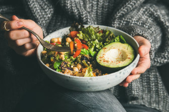 Try to include fibre and fermented foods to support gut health.