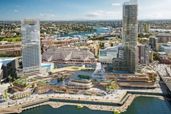 The Pyrmont precinct could be turned into a tourism and entertainment hub, a new Committee for Sydney report says.