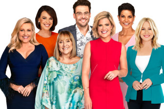 Natarsha Belling (second from left) and Kerri-Anne Kennerley (far right) are leaving Studio 10.