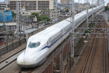 new bullet train japan