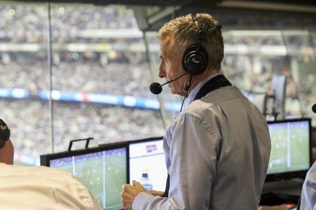 Bruce McAvaney will no longer call football.