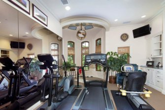 The house in Westlake's exclusive Vaquero gated community.