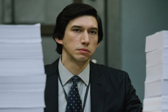 Adam Driver's performance is one long slow burn.