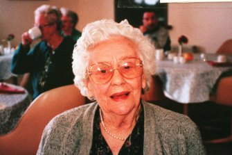 Kathleen Downes, who was killed at her nursing home in 1997.