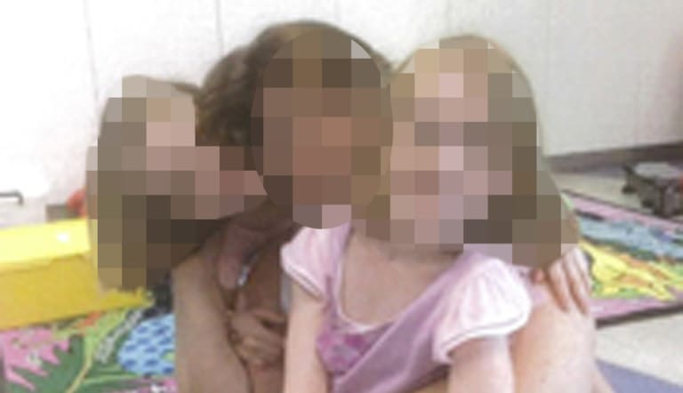 The girls, then aged 7, were taken into hiding by their mother on April 4, 2014.