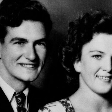 Bob Hawke and Hazel, engagement photos.