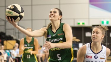 Tessa Lavey had to pack very quickly after her last minute call up to the Opals.
