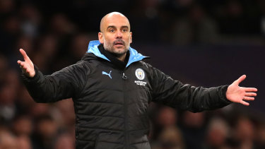 Pep Guardiola, the manager of Manchester City, pictured earlier this month.