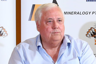 Clive Palmer says vaccines should be up to each individual.