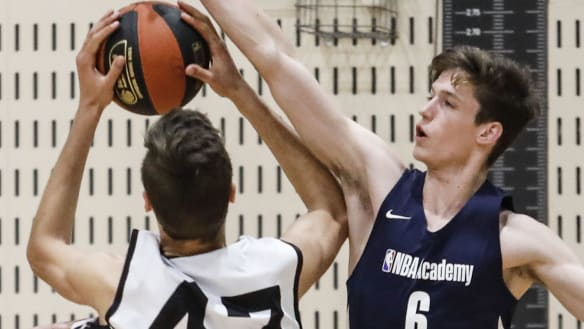 Canberran's basketball journey comes full circle at NBA Global Academy