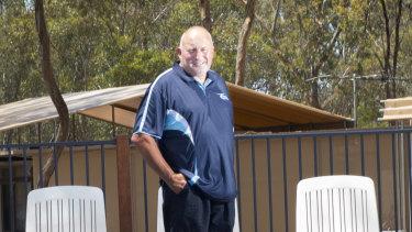 Peter Rose, owner and operator of the Lake Eppalock Holiday Park near Bendigo.