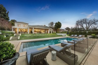 The property has set a national auction record.