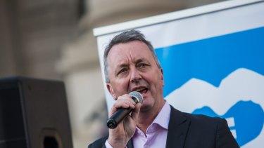 Housing Minister Martin Foley.