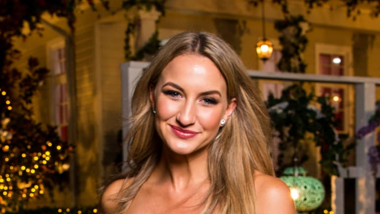 Alisha Aitken-Radburn is hoping Manuka's Public bar hosts a special screening of 'The Bachelor' premiere in her honour.