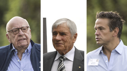 Lachlan Murdoch's Seven visit sparks News chatter