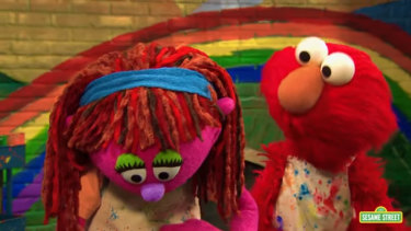 Lily is Sesame Street's first homeless character.