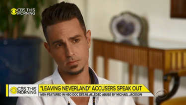 Wade Robson detailed Jackson's alleged abuse on CBS This Morning.