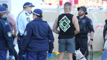 Police presence has increased at music festivals.