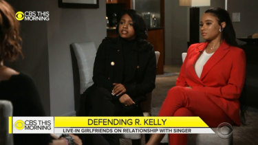Azriel Clary, 21, andJoycelyn Savage, 23, have defended their relationship with R. Kelly.
