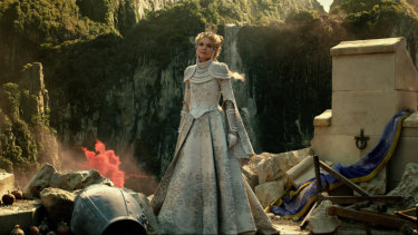 Armed for battle: Michelle Pfeiffer as Queen Ingrith in Maleficent: Mistress of Evil.