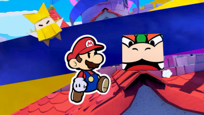Paper Mario's latest is sharp and sparkling, but with a few creases
