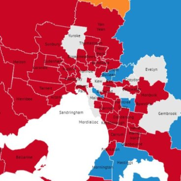 Victoria state election: Electoral map shows Labor's