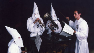The Ku Klux Klan Orchestra formed by serial hoaxer Alan Abel