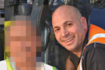 Paul Virgona was killed when the van he was driving was sprayed with bullets.