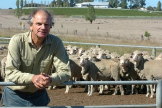 Crawford River's founder John Thomson at his property in Henty.