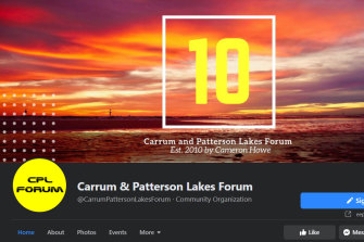 The defamation action centres on posts by users of the Carrum and Patterson Lakes Forum Facebook page.