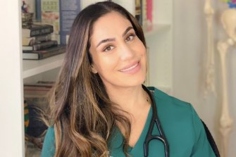 Spare me the conspiracy theories: GP and clinical researcher Mariam Chaalan.