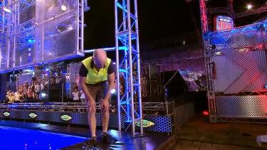 """Tradie Ninja"" Sam Goodall collapsed during his run."