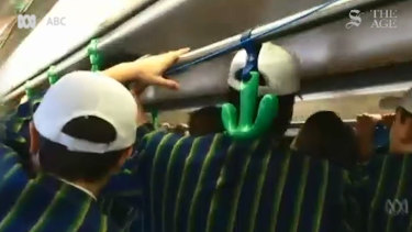 Students from St Kevin's College were filmed singing a sexist song on a tram.
