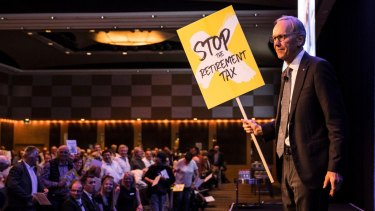 Wilson Asset Management Chairman Geoff Wilson at the organisation's  annual general meeting last year.