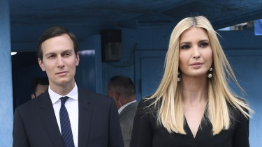 White House Senior Advisors Ivanka Trump and Jared Kushner.