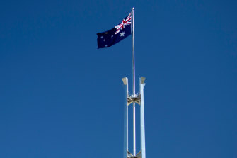 The highest profile of workplaces, Parliament House.