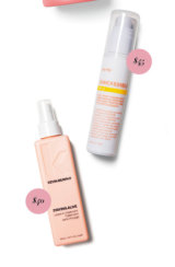 Go-To Zincredible SPF15 Daily Moisturiser. $45. Kevin.Murphy Staying Alive Leave-in Treatment, $40.