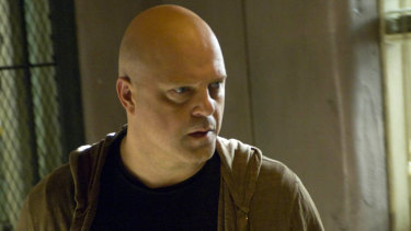 Michael Chiklis stars as detective Vic Mackey in gripping show The Shield.