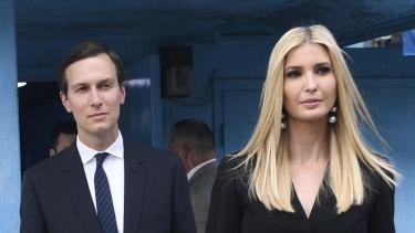 White House Senior Advisors Ivanka Trump and Jared Kushner.