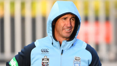 Good news: Medication should keep Andrew Johns' mild epilepsy under control.