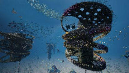 World-first floating reef dive site to be built off Gold Coast