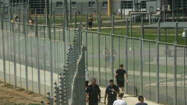 The maximum security Melbourne Remand Centre.