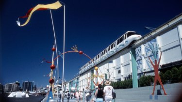 World Expo 88 in South Bank, Brisbane.