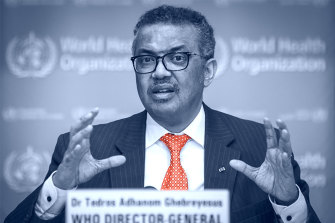 WHO head Tedros Adhanom Ghebreyesus, who has called on countries to pull together and act fast to stop the spread of the new coronavirus.