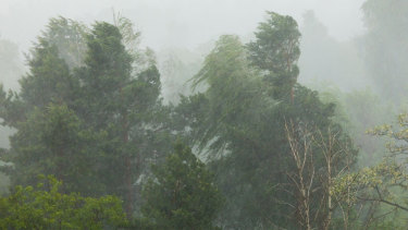 A severe weather warning remains in place for WA's south