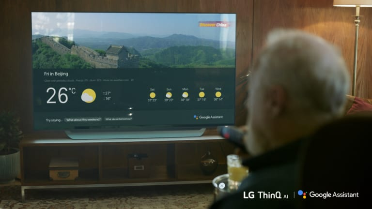 Google Assistant can show you the sports score or the weather, but on LG TVs it won't find you something to watch.
