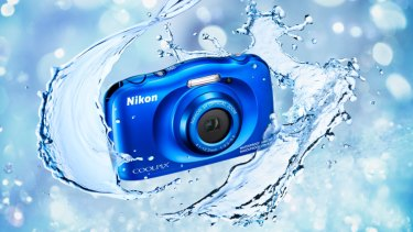 The Nikon Coolpix W150 is great for wet and underwater holiday snaps.