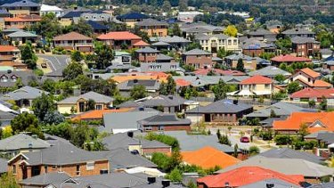 Residential property prices rose 5 per cent in the year to December, slower than the 8.3 per cent growth achieved just three months earlier.