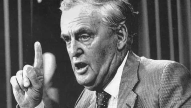 The year 1987 was the beginning of the end for firebrand premier Sir Joh Bjelke-Petersen.