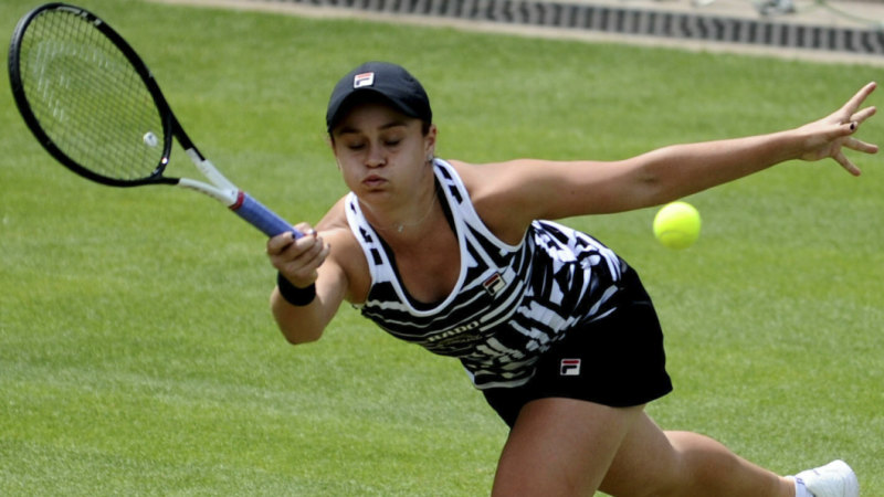 Barty knocks back Murray's doubles request